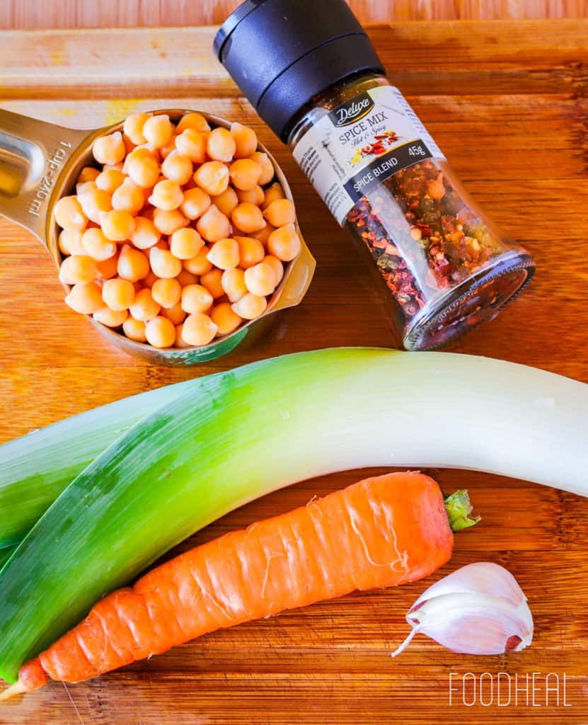 Super Simple Chickpea Stew