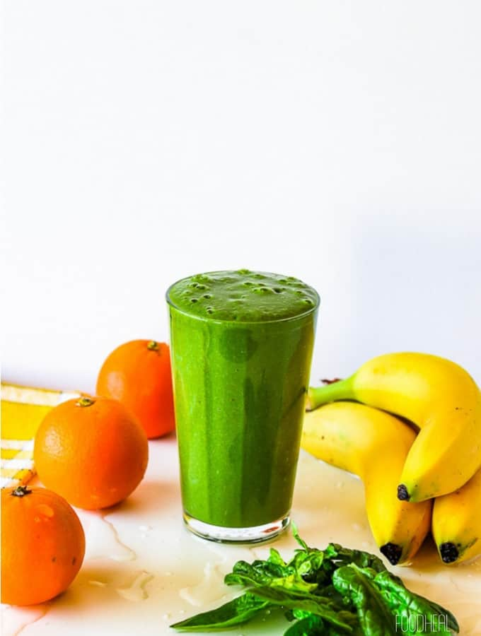kick inflammation mango spinach smoothie-2