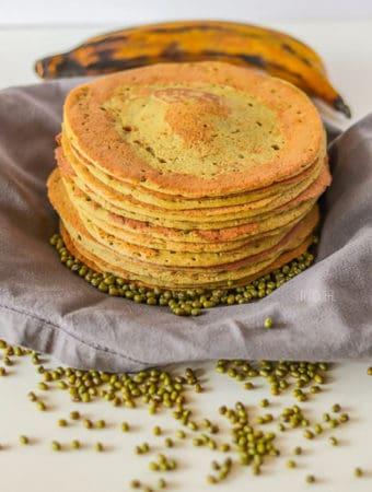 vegan mung beans pancakes