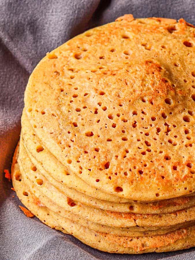 half view buckwheat pancakes