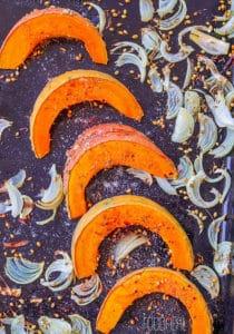 roasted spiced pumpkins