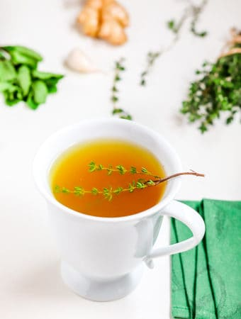 Thyme tea best home remedy for tonsillitis