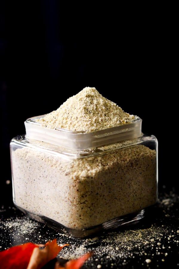 farine faite maison sans gluten