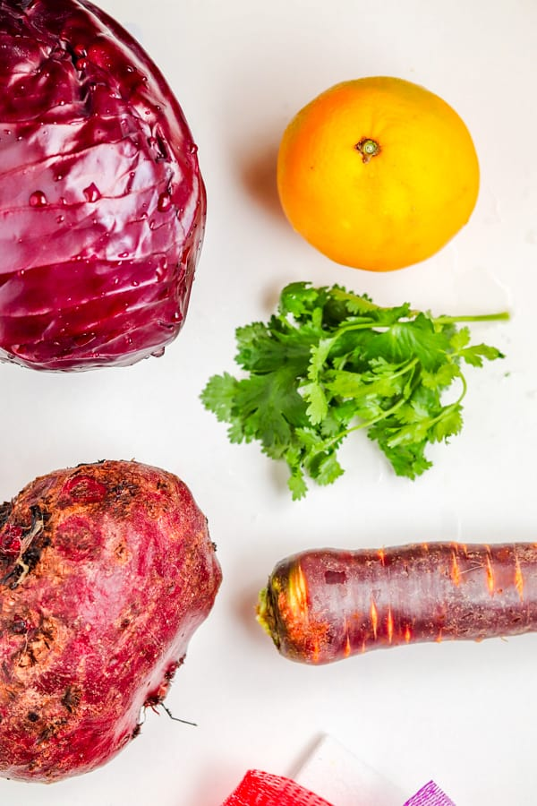 ingredients for red cabbage recipe