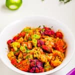 Salade de chou-fleur aux pommes de terre rôties au paprika fumé (2)