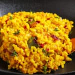 brown rice risotto with pumpkins