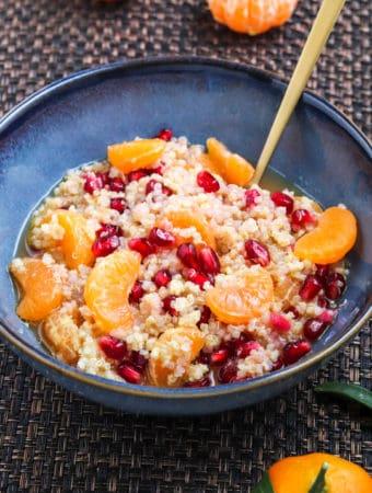QI le petit déjeuner de millet & quinoa aux agrumes