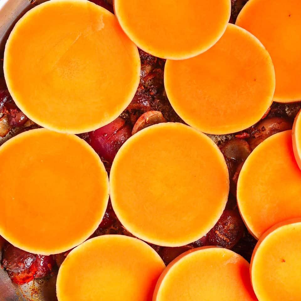 butternut in healthy sweet potato recipe