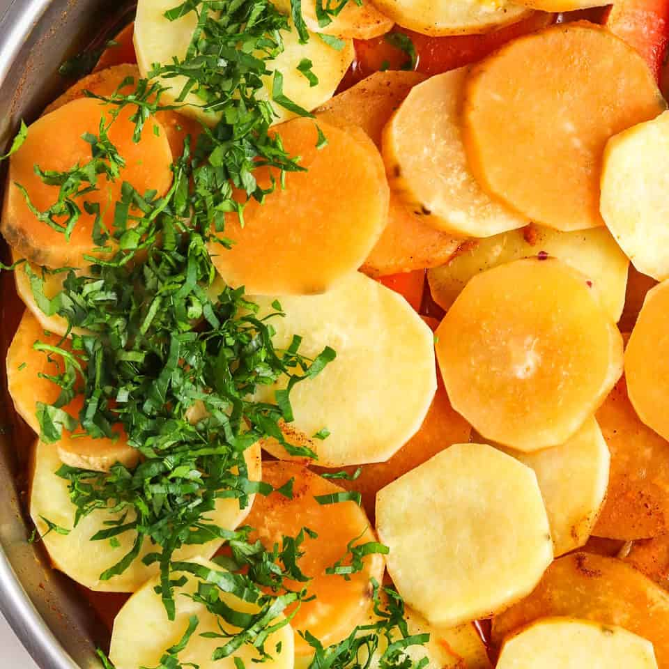 skillet healthy sweet potato recipe