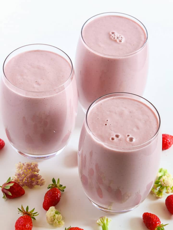 strawberry smoothie reciep