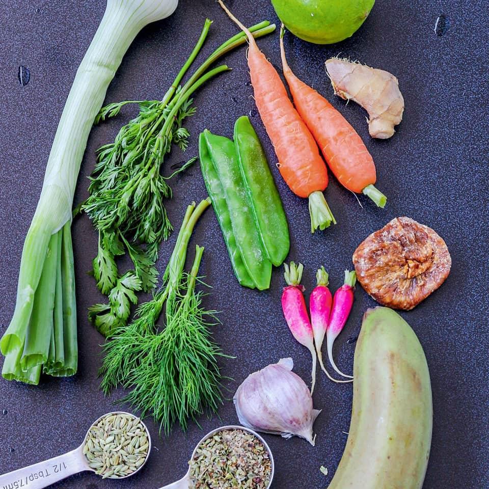 snow peas recipe ingredients
