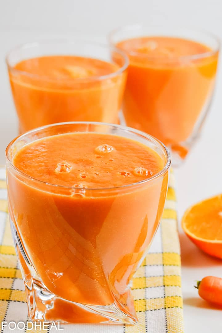 smoothie anti-inflammatoire au curcuma