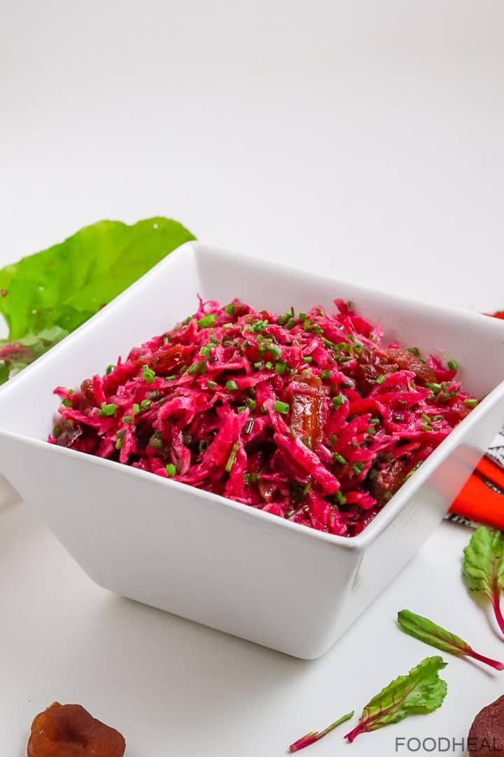 Salade de betteraves sucrées