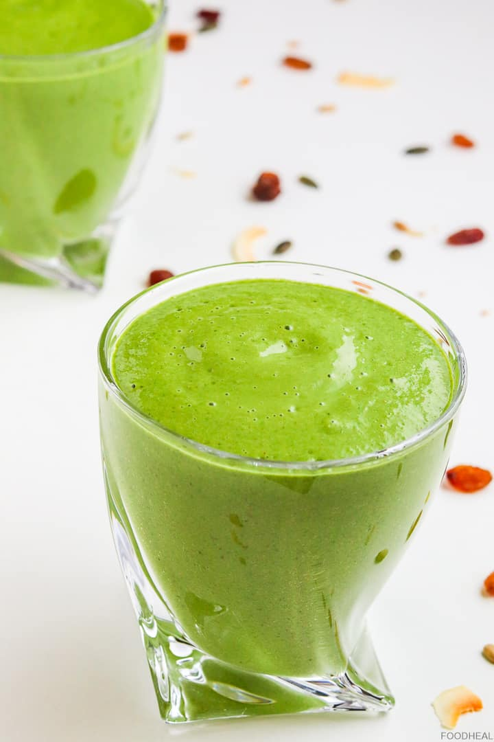 Healthy green smoothie for weight loss