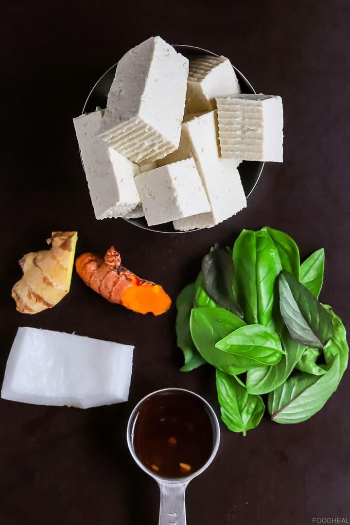 creamy tofu dressings ingredients
