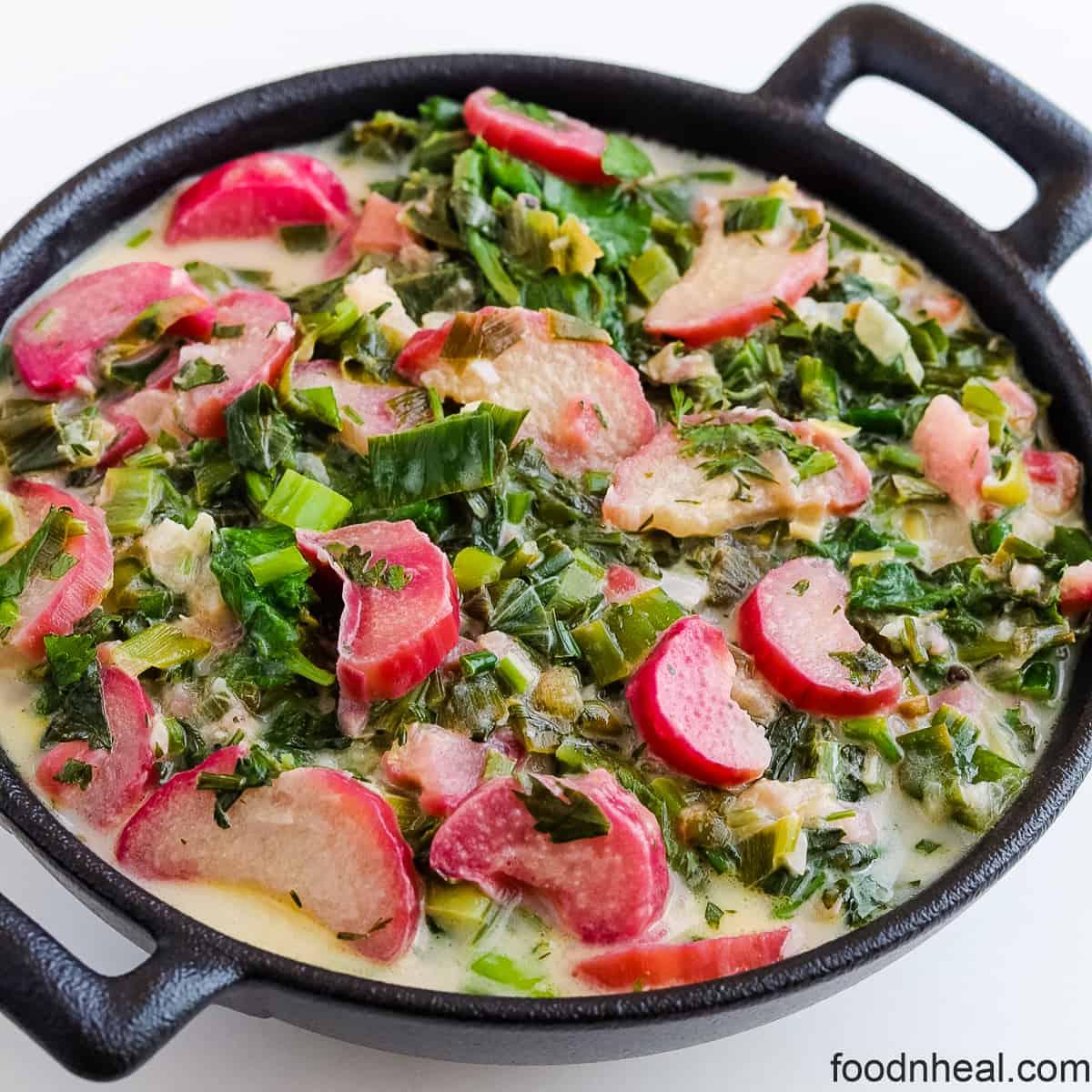 Savory rhubarb recipe