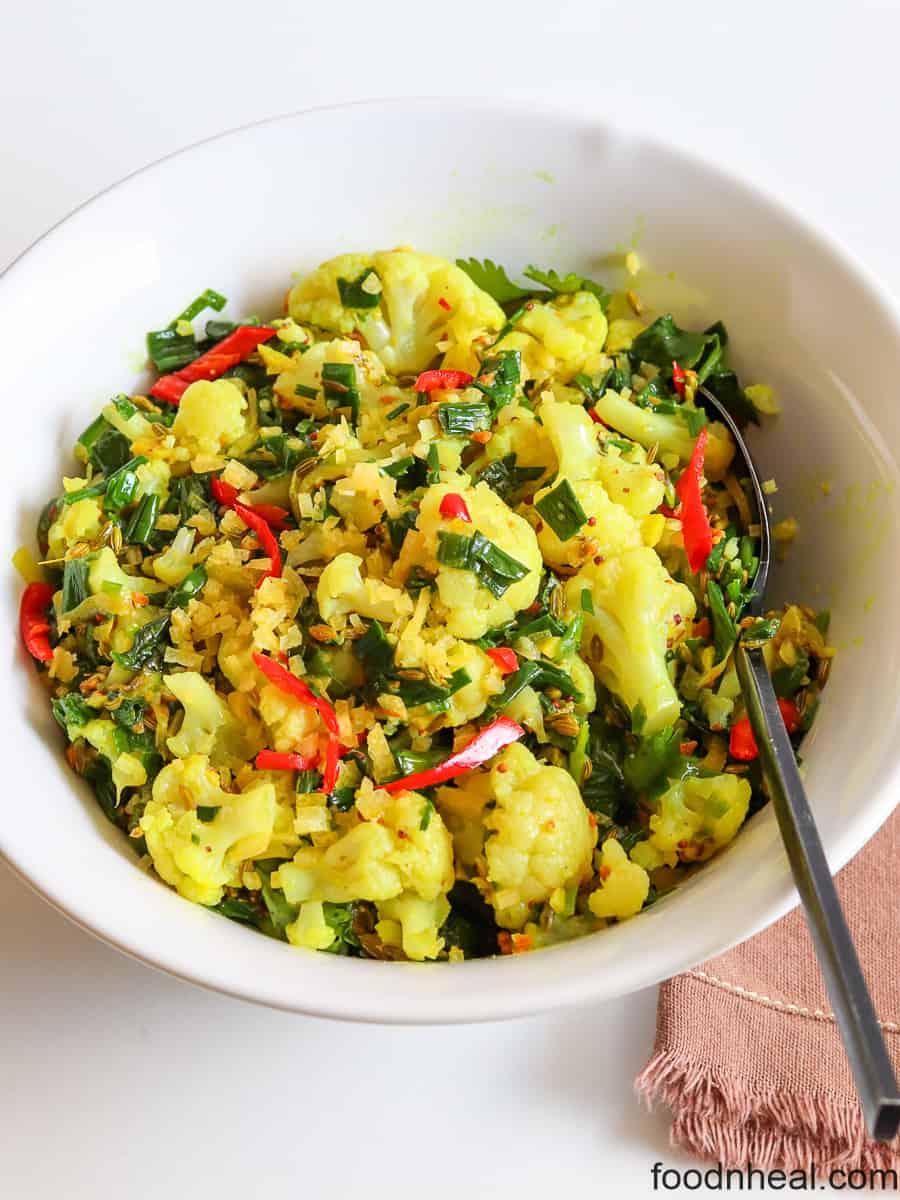 Vegan cauliflower