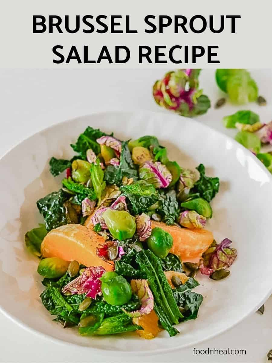 brussel sprout salad recipe