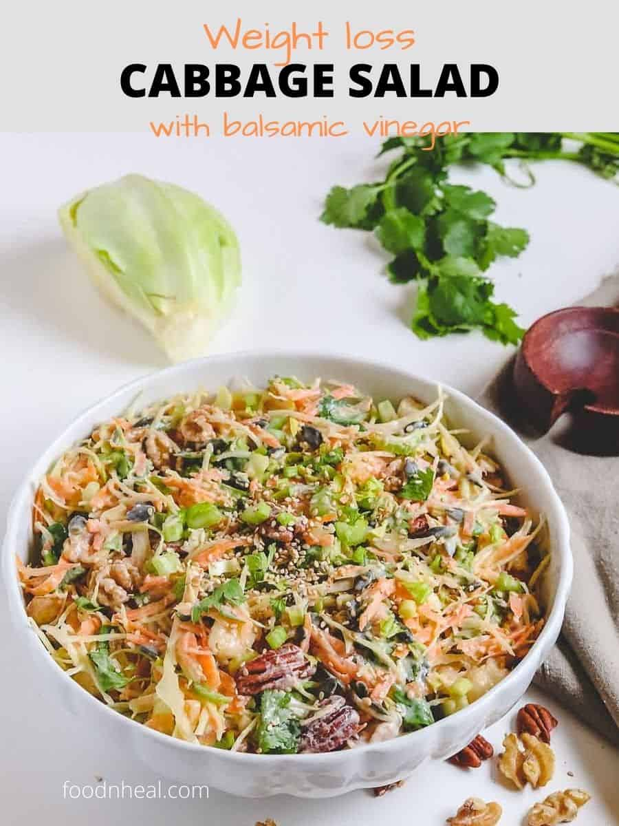 Vegan cabbage salad