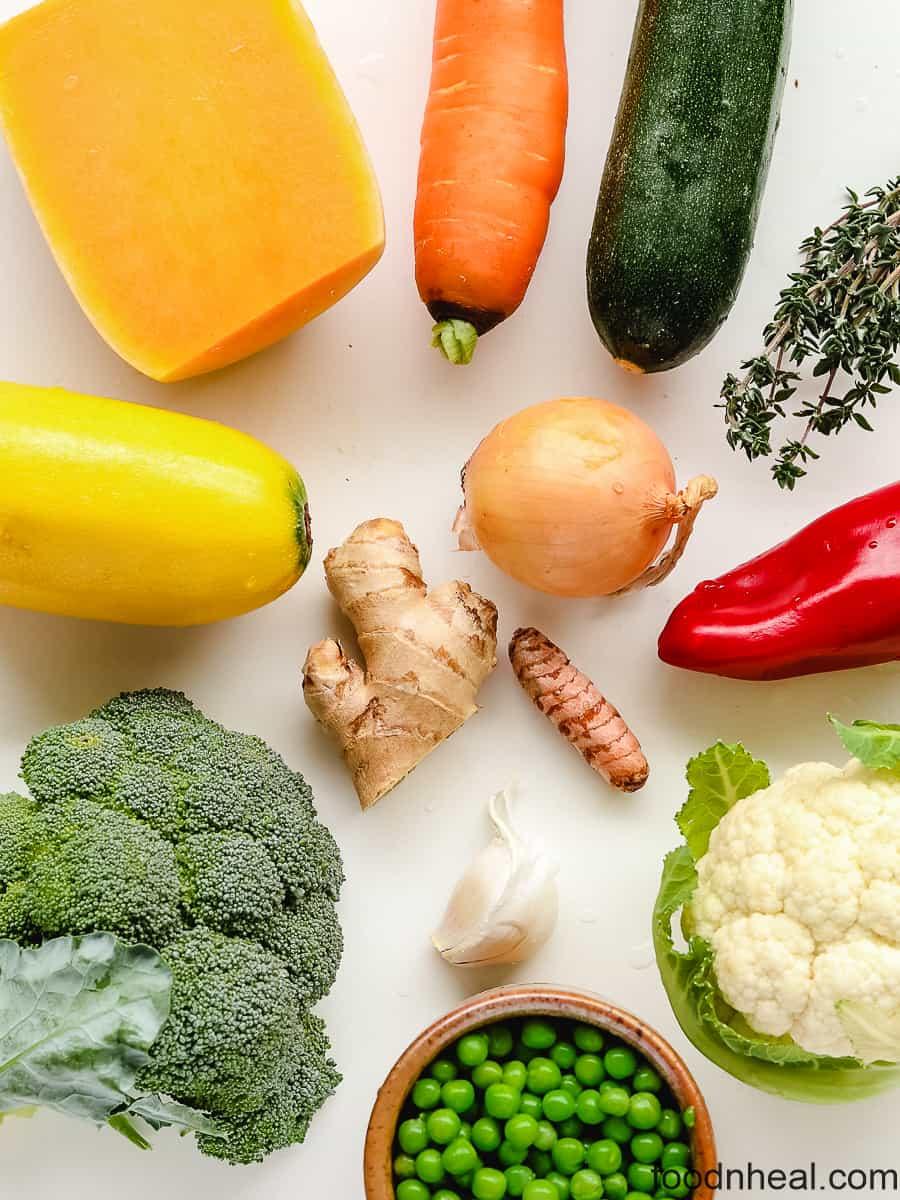 vegetables for vegetable stir fry