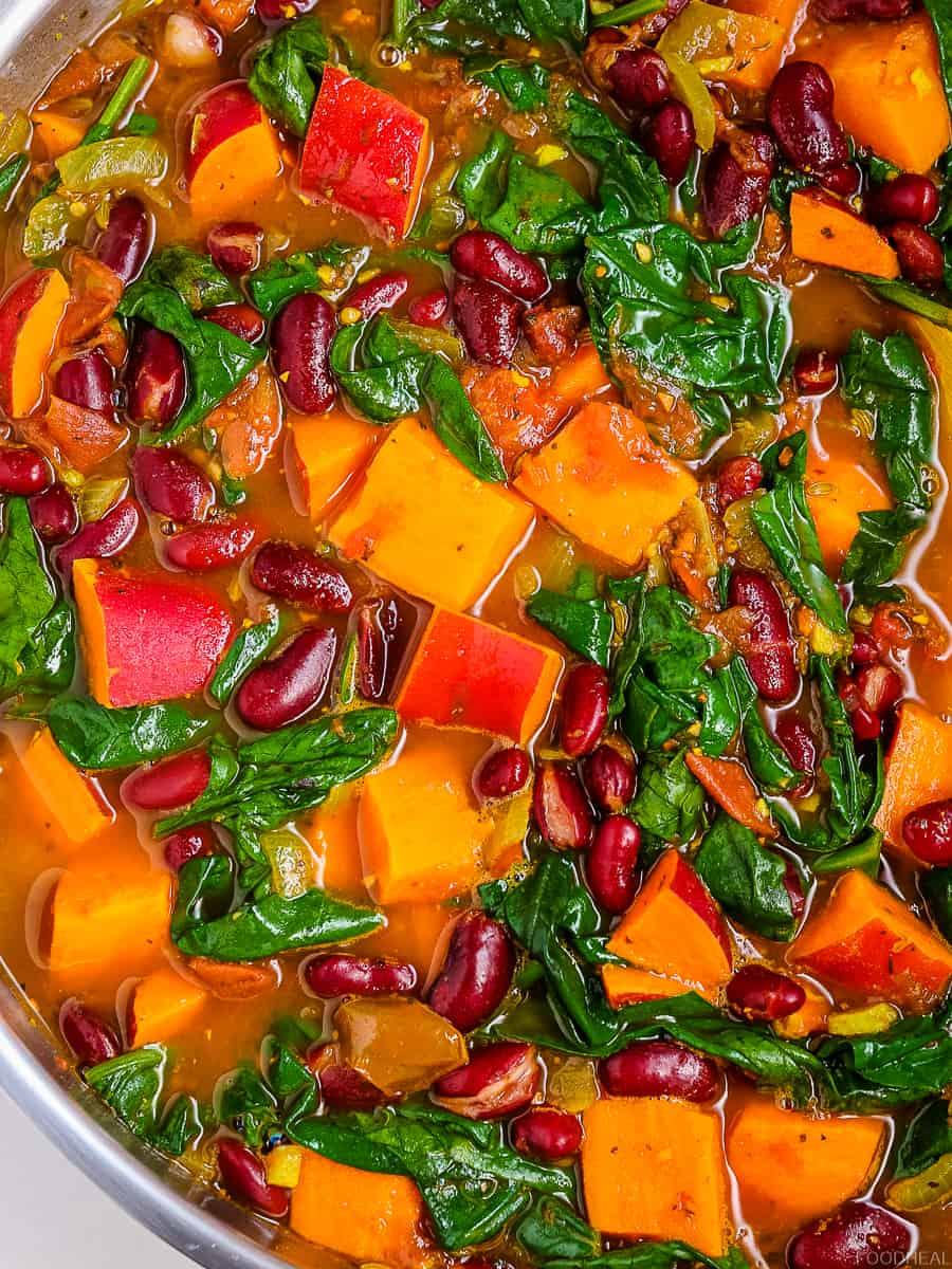 sweet potato stew, sweet potato recipes, sweet potato soup