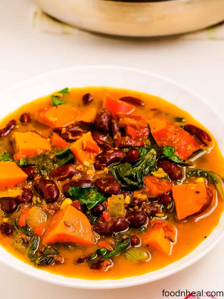 sweet potato stew soup, sweet potato recipe,