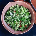 tabouleh quinoa salad
